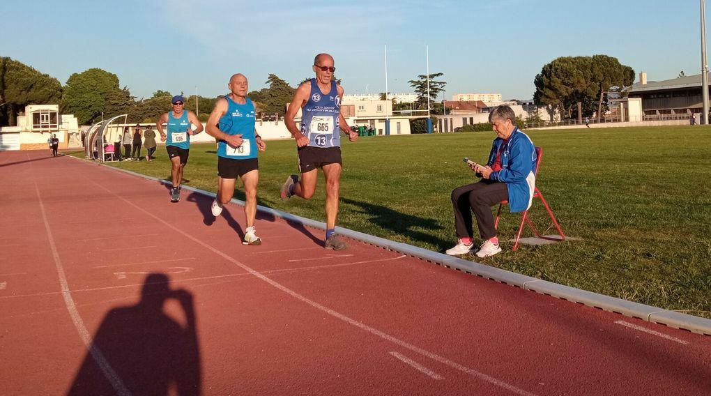5000 m, deuxième série.