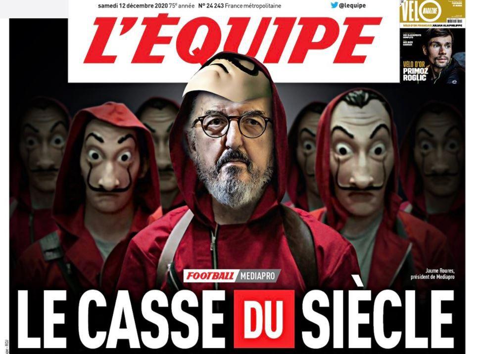 Médiapro et les incompétents du Foot Français !