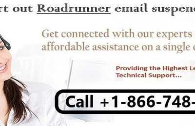 Is your Roadrunner Email Account Suspended? Call +1-866-748-5444