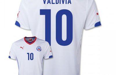 Köpa Billiga Chile Tröja VM 2014