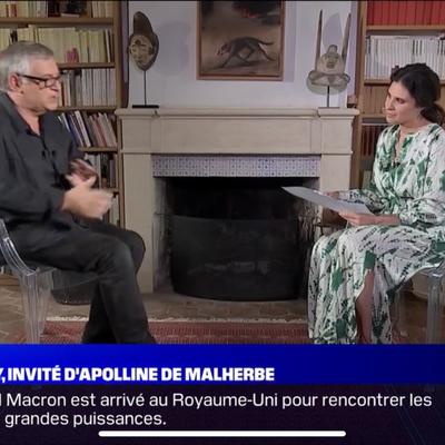 Michel Onfray - 7 jours BFM (BFM TV) - 11.06.2021