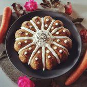 Gâteau à la carotte et graines de chia healthy