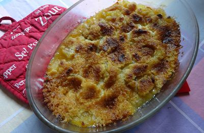 Crumble pommes/ bananes