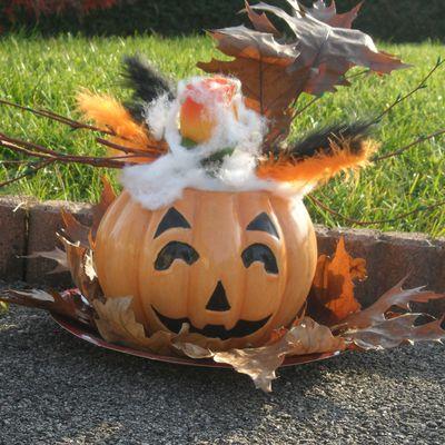 pot d'halloween