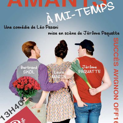 AMANTS À MI-TEMPS au Théâtre Edgar
