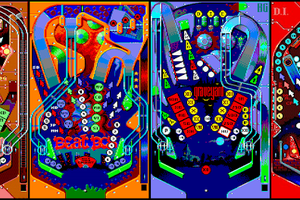 Amstrad CPC - Le jeu Pinball Dreams bientôt disponible !!! (conversion officiel par BG Games)