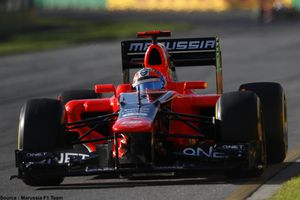 Marussia poursuit sa collaboration avec Nexa Autocolor