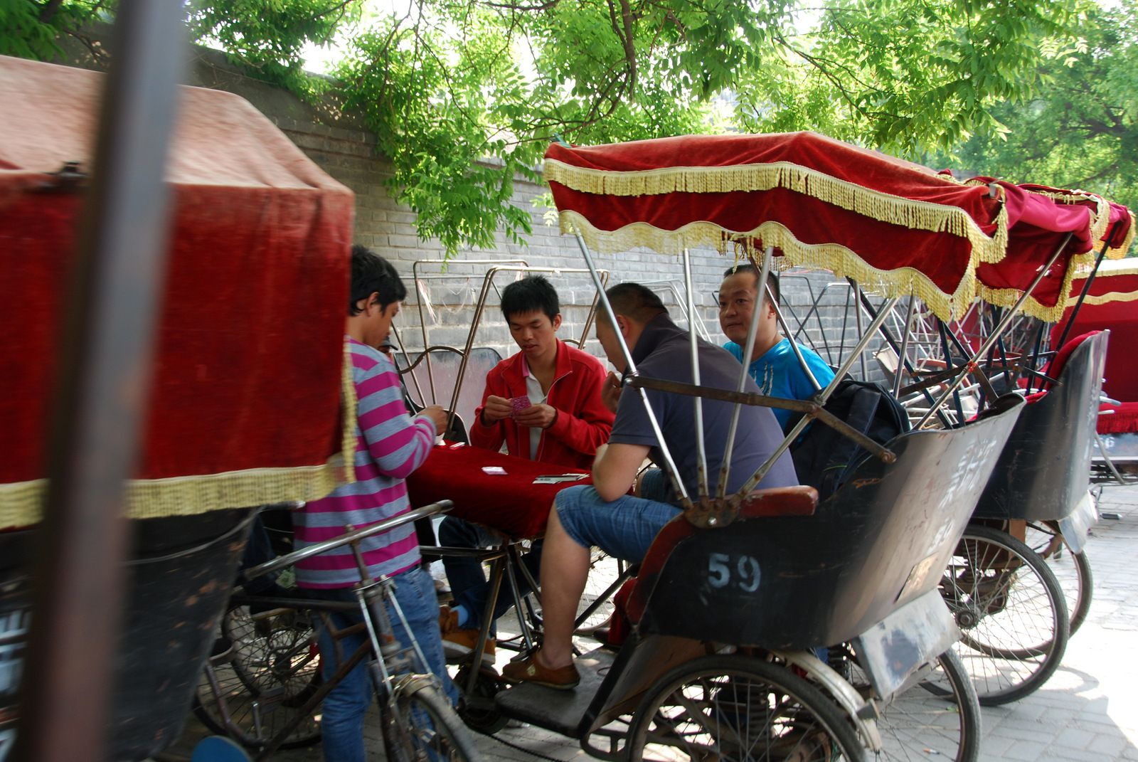Pékin / 2014 / Il est 08h05, nous sommes le 11 Juin 2021