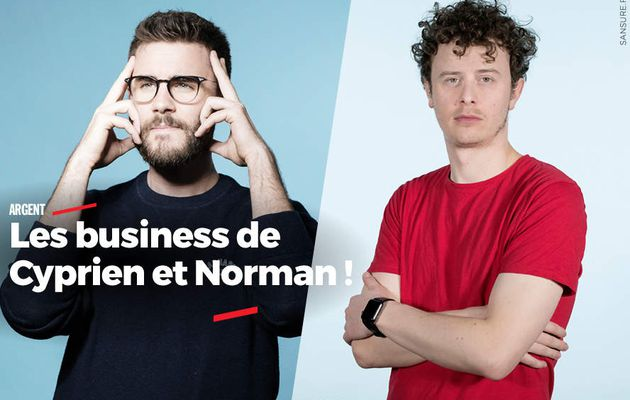 Les business de Cyprien et Norman ! #Business