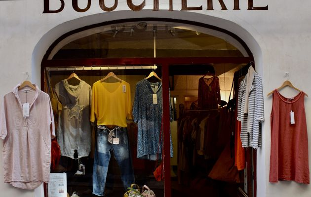 La Boucherie à Cotignac (Var)  : la boutique qui rend les femmes jolies