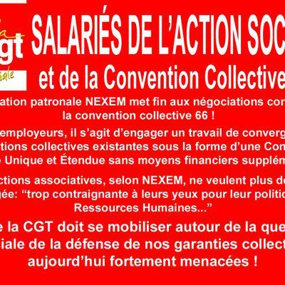 ALERTE sur la Convention Collective Nationale du Travail du 15 mars 1966 !
