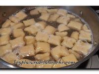 Gnocchis aux pommes de terre, purée de champignons et foie gras poêlé