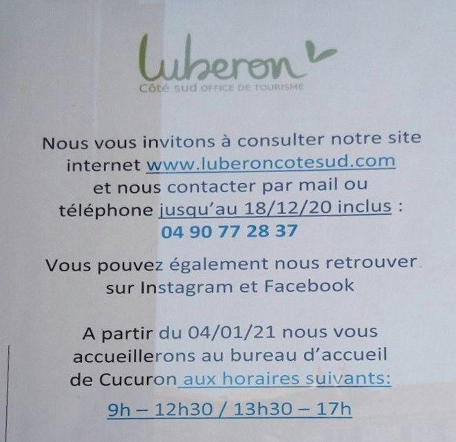 L'Office du Tourisme de Cadenet a disparu