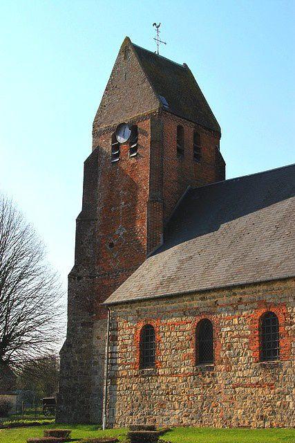 Diaporama église fortifiée de Laigny