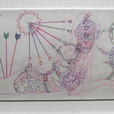 Exposition Art Brut: Carlos Augusto GIRALDO «Codex»