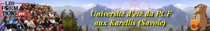 Universités d'été du Parti communiste