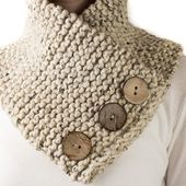 TRUST : Scarf Cowl Knitting Pattern - Brome Fields