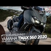 YAMAHA TMAX 560 TECH MAX 2020 : TOUJOURS LE KING ? | TEST MOTORLIVE