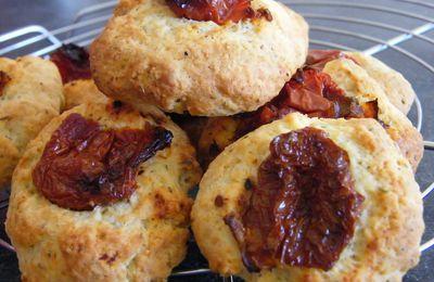 Cookies moelleux aux tomates séchées