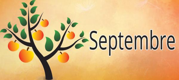 Les Mois de l'Année : Septembre [Affichage][Maternelle][CP]