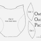 "Owl Ouchie Pack {A-Z Series, ""O""}"
