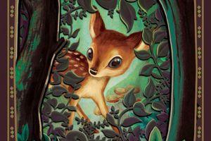 Bambi de Felix Salten, illustré par Benjamin Lacombe