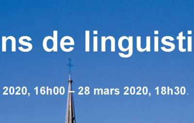 Appel à communications - 50 ans de linguistique à l'UQAM