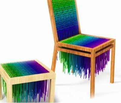 Des chaises pour notre chaton !