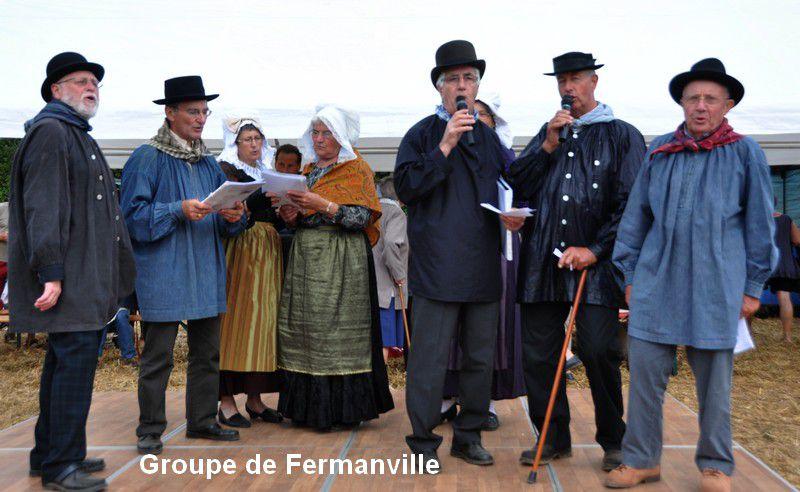 Evocation de l'histoire de la Normandie)