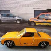PORSCHE 914-6 PEINTURE ORANGE SIKU - car-collector.net