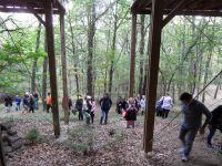 Visite Maison dans les bois près d'Auterive, le 16 octobre 2016, Parcours d'architecture