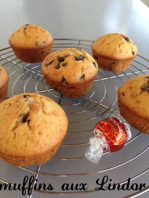 Mise à l'honneur muffins aux Lindor de Lindt