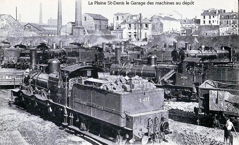 Paris-La Plaine l'ancien dépôt des locomotives (1)