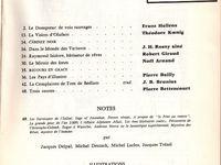 """J.-H. Rosny aîné """"Dans le Monde des Variants"""" in Bizarre n°V (1956)"""