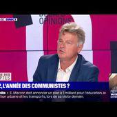 Fabien Roussel : présente son livre : ma France et répond à N. Polony