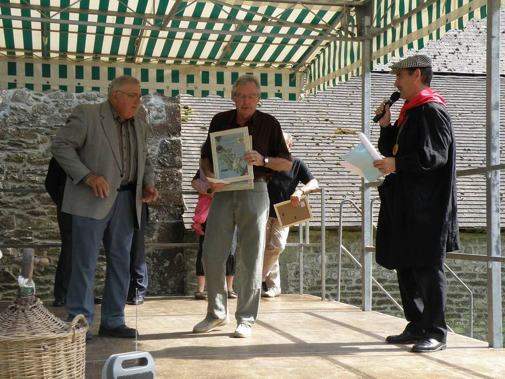 La remise des prix du 25 juillet 2009 à Sainte-Anne de Champfrémont.