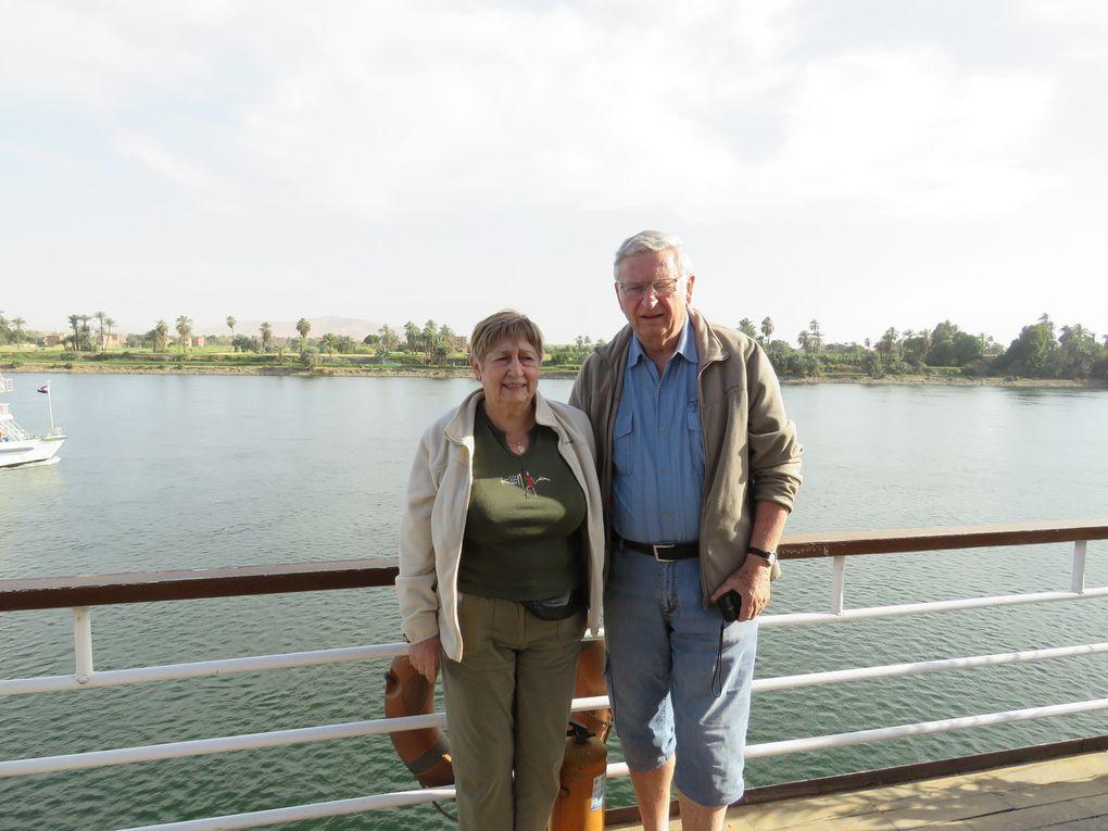 Croisière sur le Nil.....  deuxième jour: visite de la nécropole thébaine puis navigation vers Edfou.