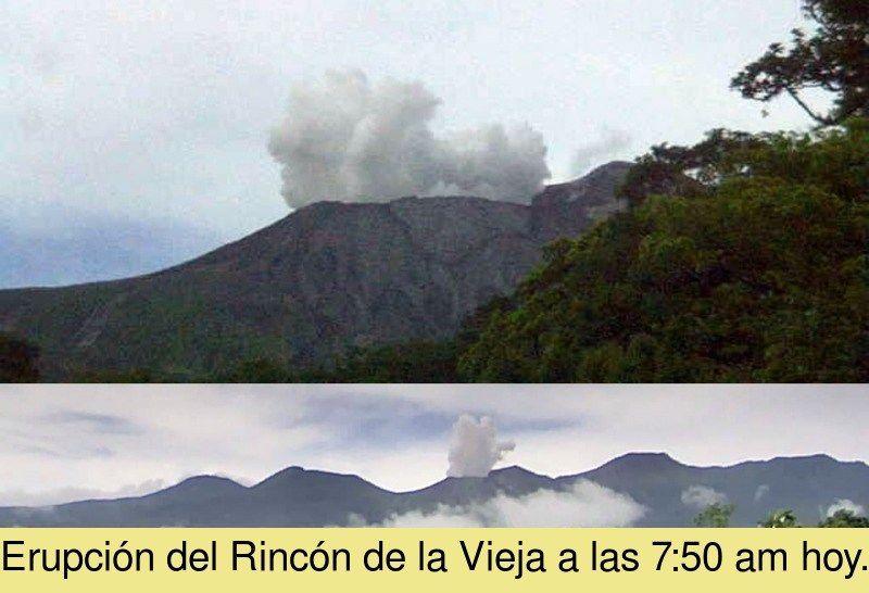Rincon de La Vieja - 07.09.2020 / 7h50 - Doc. Ovsicori