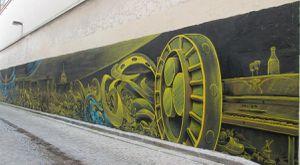 Fresque rue d'Aix - Paris 10