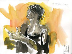 Kellylee Evans quartet (Lagny jazz festival, 7 octobre 2011)