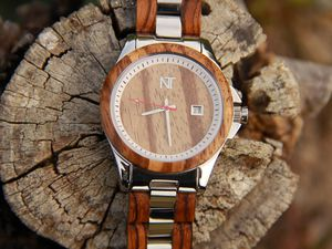 Review: Nature's Time Wood & Steel Watch