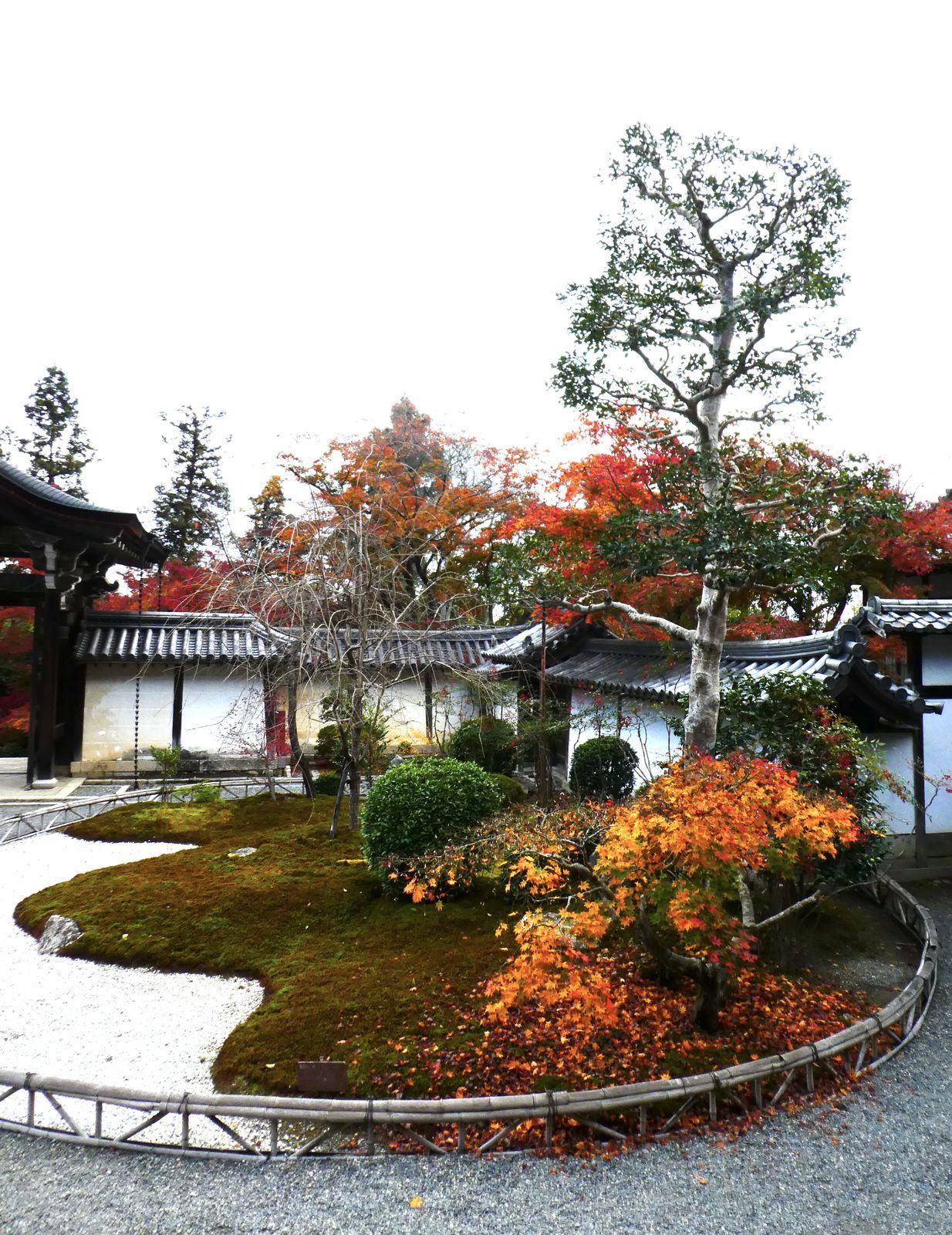 """Kyôto: Arashiyama: Le temple Nison-in 二尊院 des """"Deux Vénérations"""""""