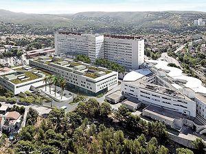 Hôpital Nord de Marseille situé dans le quartier de Notre-Dame-Limite, dans le 15ᵉ arrondissement