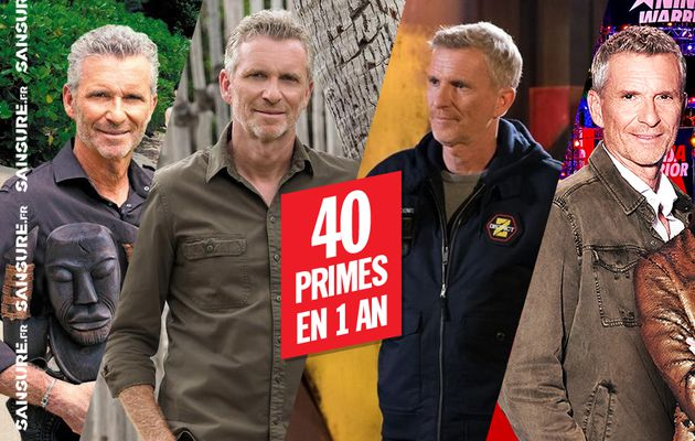 TF1 est-elle en train d'user Denis Brogniart ? #DistrictZ #NinjaWarrior #KohLanta