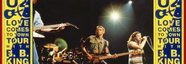 U2 -Lovetown Tour -08/10/1989 -Melbourne ,Australie -National Tennis Center #2