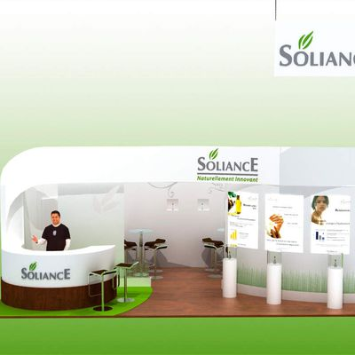 Réalisation Stand Showroom - Soliance, Philips, THQ,...
