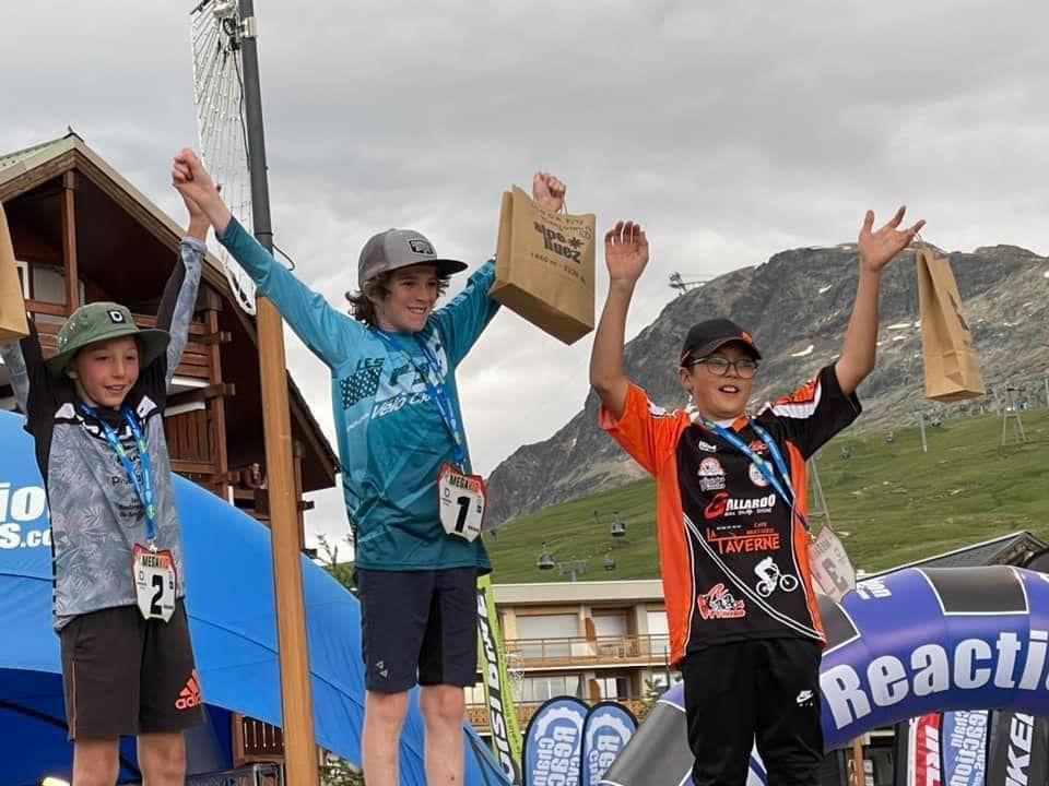 Barrême , Moriez : Deux champions de VTT dans un rayon de 10 Km!
