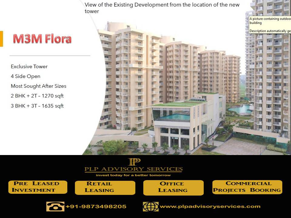 M3M Flora Sector 68 Gurgaon