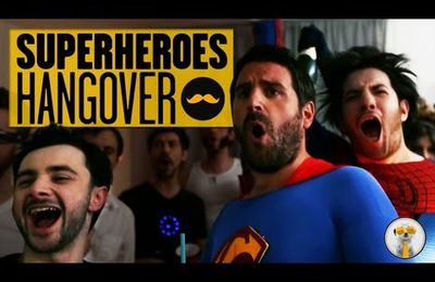 The Superheroes Hangover