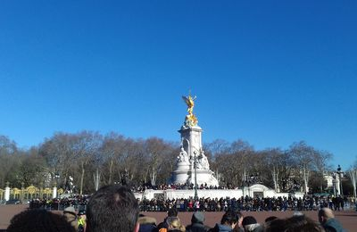 THE SUN, THE QUEEN AND THE BLUE SKY